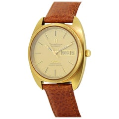 Omega Constellation, Automatic Men's 18 Karat Yellow Gold Wristwatch, 1960s