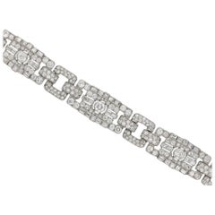 Art Deco diamond bracelet, circa 1925