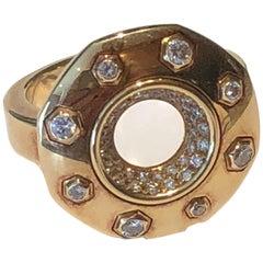 Audemars Piguet Royal Oak Diamond Gold Ring
