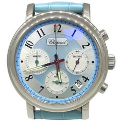 Chopard Mille Miglia Elton John Blue Dial and Leather Band Chronograph Watch