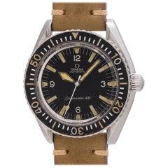 Omega Stainless Steel Seamaster 300 Self Winding Wristwatch, circa 1968