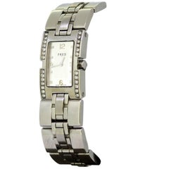 Fred Paris Ladies Quartz Wristwatch with Diamonds