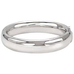"""Bangle from the Collection """"Essence"""" 18 Karat White Gold"""