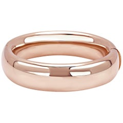 """Bangle from the Collection """"Essence"""" 18 Karat Pink Gold"""