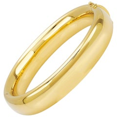 "Bangle from the Collection ""Essence"" 18 Karat Yellow Gold"