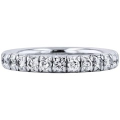 H & H 1.00 Carat Diamond Eternity Band Ring