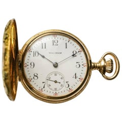 Waltham Multicolor Gold Pocket Watch