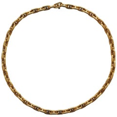 Hermès Gold Necklace