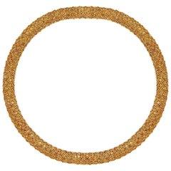 Flirt Collection 18 Karat Yellow Gold Necklace in Citrin