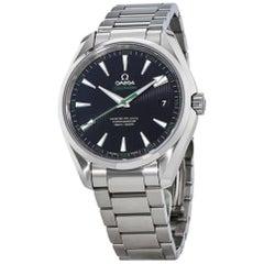 Omega Stainless Steel Seamaster Aqua Terra Automatic Wristwatch