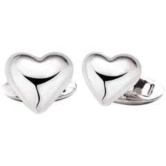 Love African Sterling Silver Cufflinks