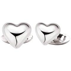 Love African Sterling Silver Cufflinks