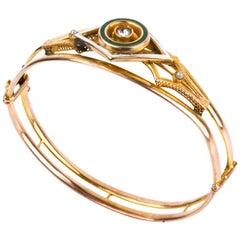 Gold Bracelet, Italy, 20th Century