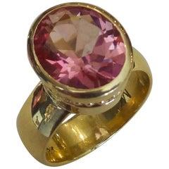 Michael Kneebone Pink Topaz Leah Ring