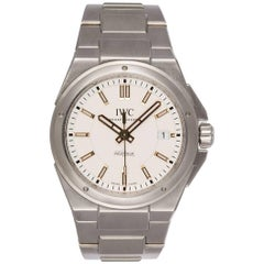 IWC Stainless Steel Ingenieur Automatic Mens Watch 40mm IW323906 Box and Papers