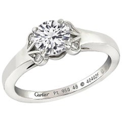 Cartier 0.49 Carat Diamond Engagement Ring