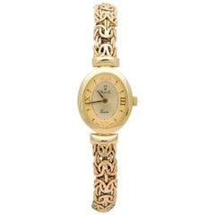 Vicence Ladies yellow gold Vintage quartz Wristwatch
