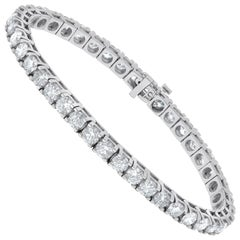 6.00 Carat Diamond Tennis Bracelet, Each Stone 0.15 Carat