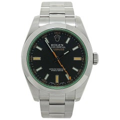 Rolex 116400V Stainless Steel Milgauss Wristwatch