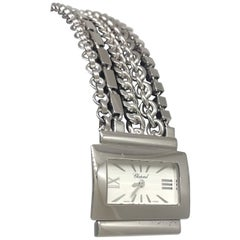 Chopard Classique 18 Karat White Gold White Dial Chains Bracelet Lady's Watch