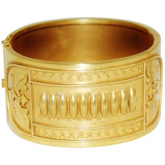 Victorian Gold Bangle