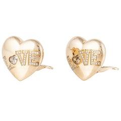 Chopard 18 Karat Happy Diamonds Earrings