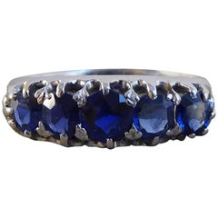 Antique Edwardian Sapphire Gold Ring