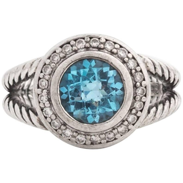 f8e6c608d4bc David Yurman Blue Topaz