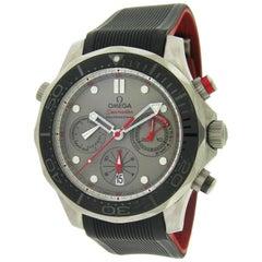 Omega Titanium Seamaster Professional Diver Chronograph Self-Winding Wristwatch