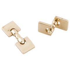 Tiffany & Co. 14 Karat Square Cufflinks