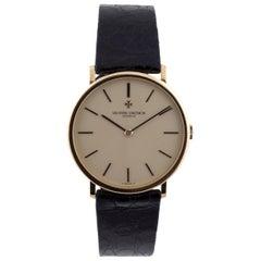 Vacheron Constantin Yellow Gold Patrimony Ultra Thin Manual Wristwatch