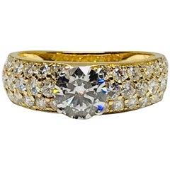 Van Cleef & Arpels Diamond Pave Ring