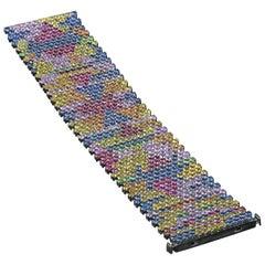 Multicolor Sapphire Tsavorite Ruby Bracelet