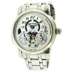 Montblanc Stainless Steel Nicolas Rieussec Chronograph Automatic Wristwatch