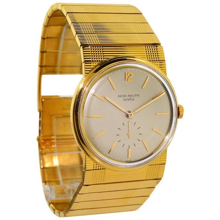 Patek Philippe Rose Gold Automatic Wristwatch Ref 2584