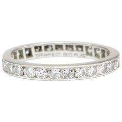 Tiffany & Co. Platinum Diamond Eternity Band, circa 1950s