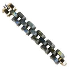 Labradorite and Diamond Bracelet by Aletto Brothers