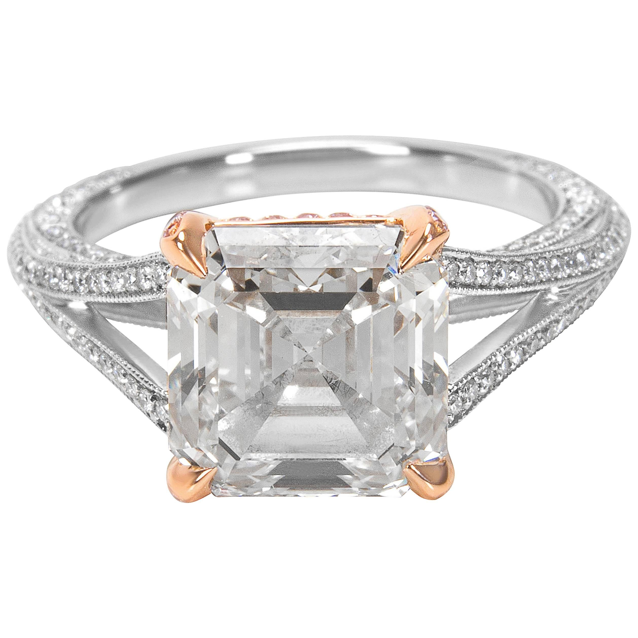 amber citrine and set ring gold cut rings image in engagement diamond white emerald