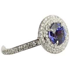 Tiffany & Co. Soleste Tanzanite and Diamond Ring