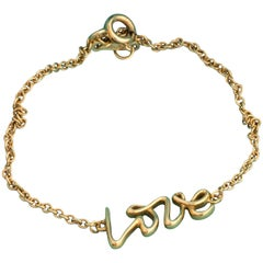 Tiffany & Co. Paloma Picasso Love Bracelet 18 Karat Gold
