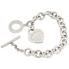 Tiffany & Co. Return to Tiffany Heart Toggle Sterling Silver Bracelet
