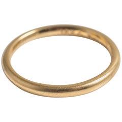 1930s Tiffany & Co. 18 Karat Yellow Gold Wedding Band Ring