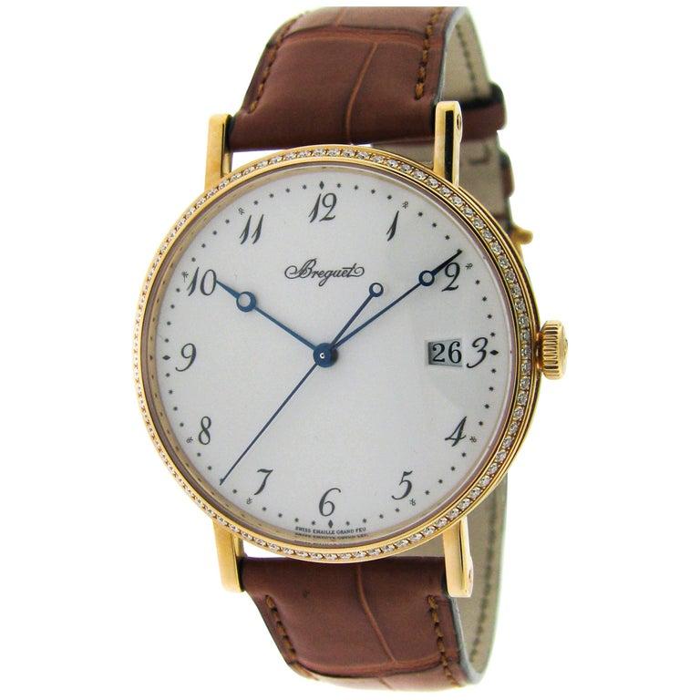 Breguet Rose Gold Classique Ultra Thin Self-Winding Wristwatch