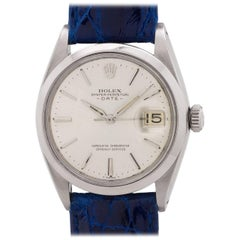 Rolex Stainless Steel Oyster Perpetual Date Self Winding Wristwatch, c1962
