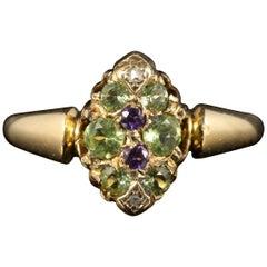 Antique Victorian Suffragette Ring 18 Carat Gold, circa 1900