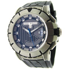 Harry Winston Zalium Ocean Sport Automatic Wristwatch