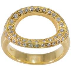 Diamond 'O' Ring