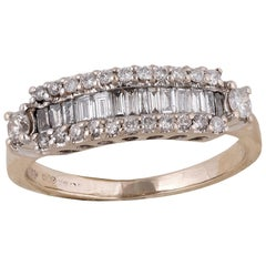 18 Carat Gold Diamond Dress Ring