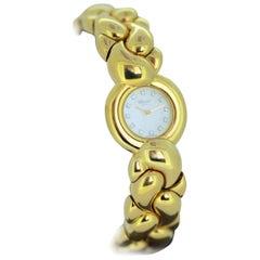 Chopard Casmir Full 18 Karat Yellow Gold Ladies Wristwatch