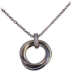Cartier Trinity Diamond Necklace